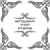 Wrought Iron Frame Seven