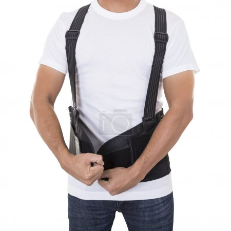 Worker wear back support belts for support and improve back post