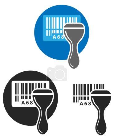 Barcode Scanner - Illustration
