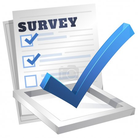 Survey Icon - Illustration
