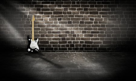 Studio room music Abstract background