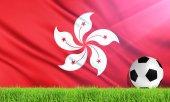 The National Flag of Hong Kong (China)