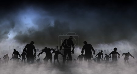 Photo for Halloween festival illustration and background - Royalty Free Image