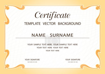 Illustration for Vector Template - Royalty Free Image