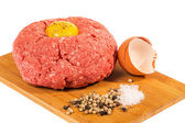 Ground beef with egg