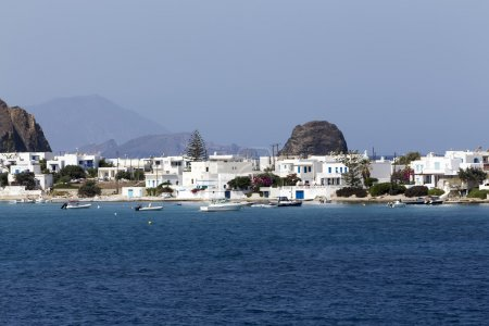 The picturesque town of Milos island, Cyclades, Greece