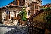 V klášteře svaté v Řecku
