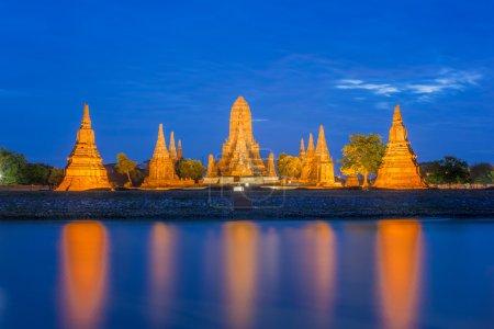 Wat Chaiwatthanaram  Ayutthaya Provincem