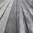 Old wooden plank in varying widths...