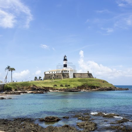 Farol da Barra (Barra Lighthouse) in Salvador, Bahia, Brazil