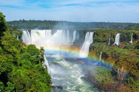 Iguazu Falls in Foz do Iguacu, Brazil