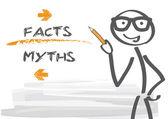 """Постер, картина, фотообои """"Мифы и факты"""""""