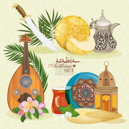 Arabic set.