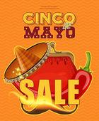 Cinco de Mayo Sale poster