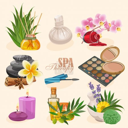 Illustration for Spa vector illustration - Royalty Free Image