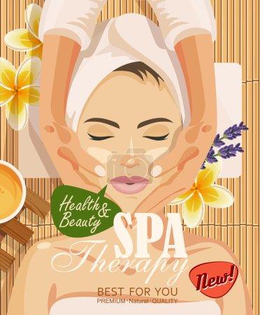 Illustration for Spa vector illustration - Royalty Free Image