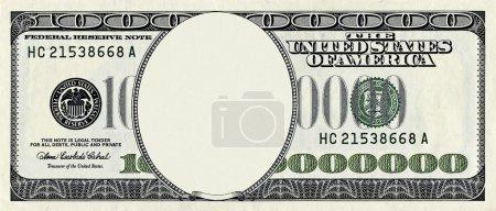 Photo pour Stylized million dollar bill - image libre de droit