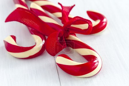 Christmas Candy Canes and Peppermint Sticks