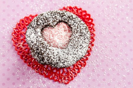 Valentines Day Heart Cutout Cupcakes