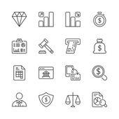 Financovat iconset tenká čára 2