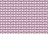 Dark Purple Abstract Flower and Leaves Shape Pattern on Pastel B