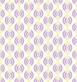 Purple Abstract Lotus Seamless Pattern on Pastel Background