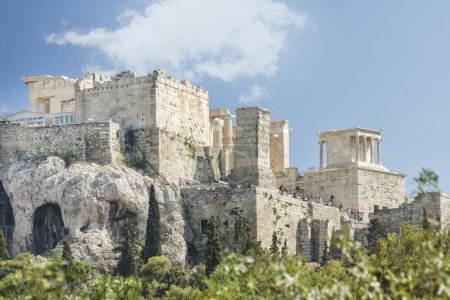 Entrance of Acropolis, Athens, Greece