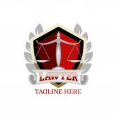 Red lawyer logo