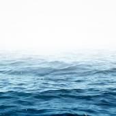 Sea wave close up