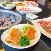 Losos sashimi