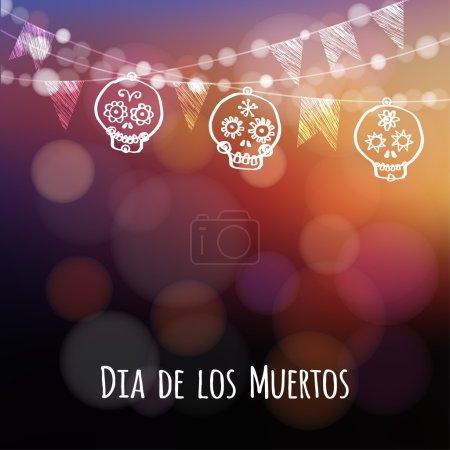 Dia de los muertos (Day of the Dead) or Halloween ...