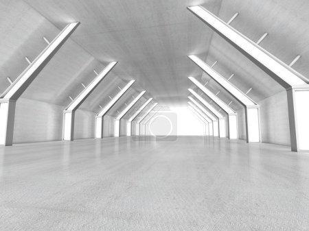 Foto de Interior vacío render 3d - Imagen libre de derechos