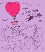Air Balloons Travel 02 A