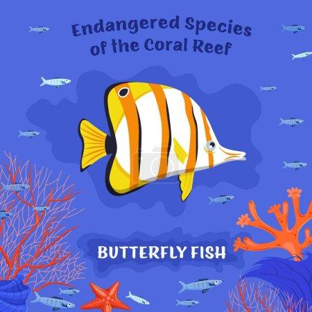 Peces de arrecife en peligro