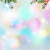 01 Snowflakes light background