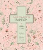 Biglietto dinvito battesimo