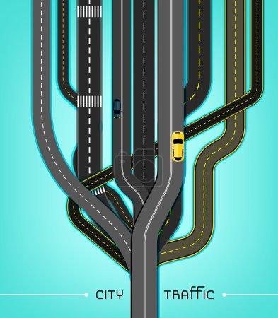 City Traffic Roads