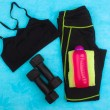 Gym Gear, gym clothes and sports wear kit for working out