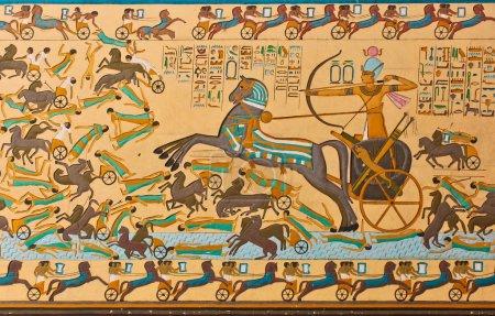 Pharaonic Art Ancient Egyptians hieroglyphic carvi...