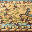 Pharaonic Art Ancient Egyptians hieroglyphic carving & paintings