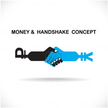 Business partners shaking hands as a symbol of unity, handshake