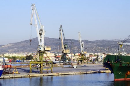 Greece, Volos, harbor