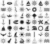 Ikonen-Meer, Schiffe, Reisen auf weiß