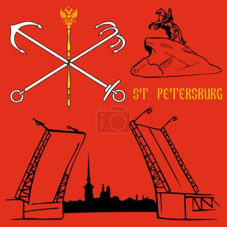 St. Petersburg flag