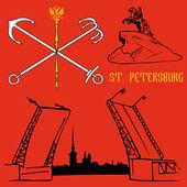 St Petersburg flag