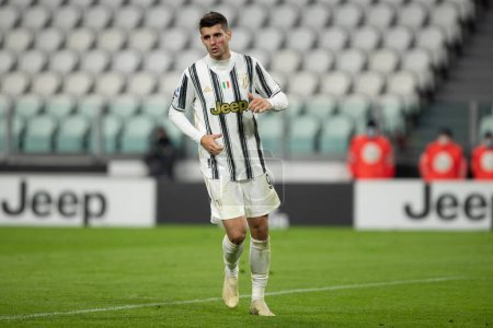 Alvaro Morata of Juventus Fc during Juventus FC vs...