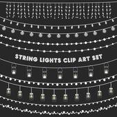 Chalkboard String Lights Set