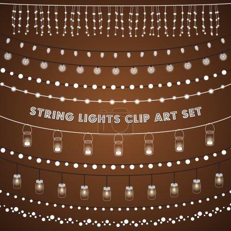 Rustic String Lights Set