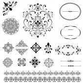 Ornaments & Borders Set