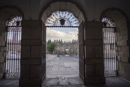 Inside view of the Convent of Santa Teresa in Avila, Spain